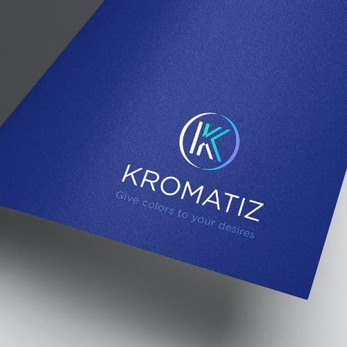Création de l'identité visuelle Kromatiz