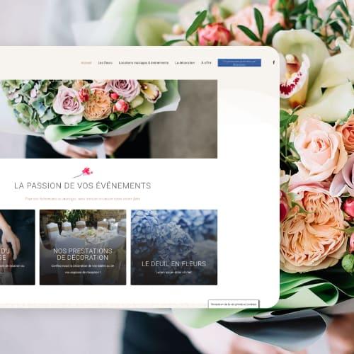 Refonte du site web Les Fleurs du Temps